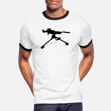 Machine Gun berserker gun machine gun - Men's Ringer T-Shirt