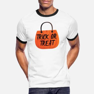 Trick Or Treat Trick or Treat - Männer Ringer T-Shirt