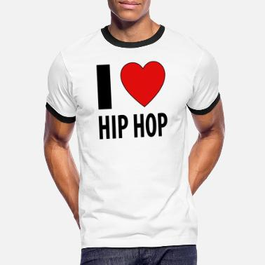 I Love Hip Hop I heart Hip Hop / I love Hip Hop - Maglietta in contrasto uomo