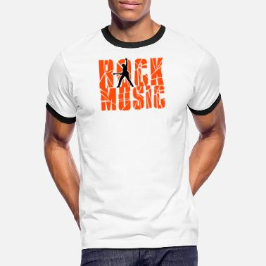 Rock Music rock music - Men's Ringer T-Shirt