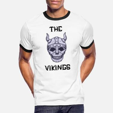 The Vikings, The Vikings - Men's Ringer T-Shirt