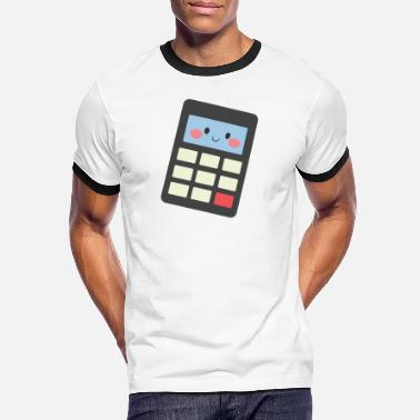 Calculator calculator - Men's Ringer T-Shirt