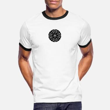 Diamond Black diamond silhouette - Men's Ringer T-Shirt