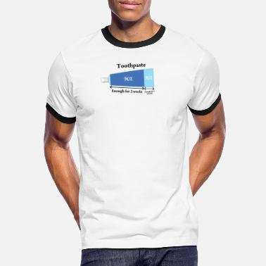 Toothpaste Toothpaste - Men's Ringer T-Shirt