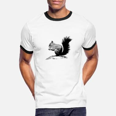 Tumble Tumbled squirrel with a nut - Men's Ringer T-Shirt