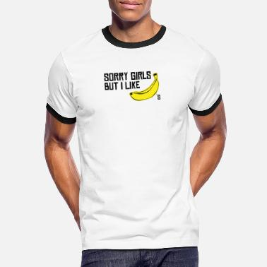 Christopher Gay LGBTQ Trans Banana Gay Queer CSD-present - Kontrast T-shirt herr