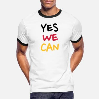 Yes We Can Yes we can - Naisten u-aukkoinen t-paita
