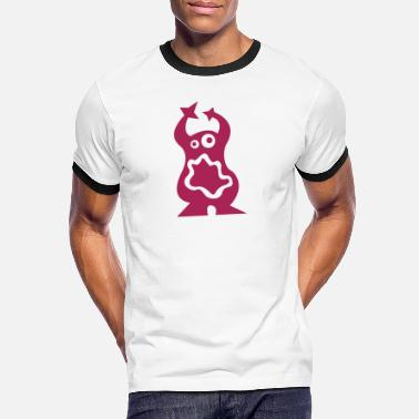 Mustasch Monster - Men's Ringer T-Shirt