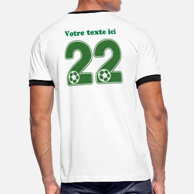 Football Numero 22 foot numero 22 - T-shirt contrasté Homme