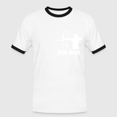 single men compound - Männer Kontrast-T-Shirt