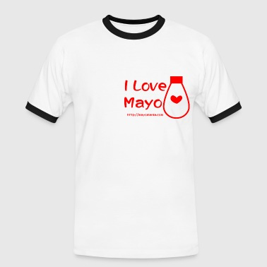 I Love Mayo  - Men's Ringer Shirt