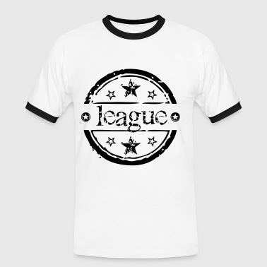 league de sport - T-shirt contrasté Homme