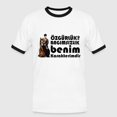 Freedom Atatürk - Men's Ringer Shirt