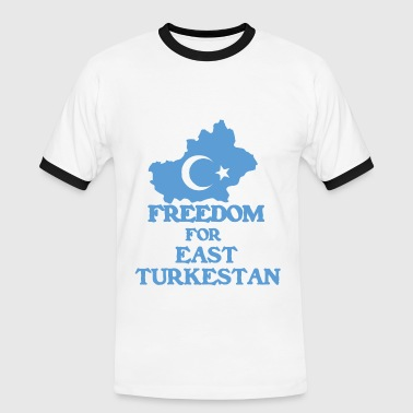 Freedom for East Turkestan - Men's Ringer Shirt