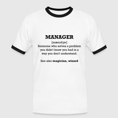 manager - wizard - T-shirt contrasté Homme