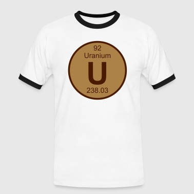 Uranium (U) (element 92) - Men's Ringer Shirt