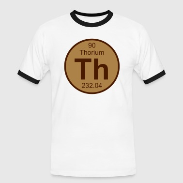 Thorium (Th) (element 90) - Men's Ringer Shirt