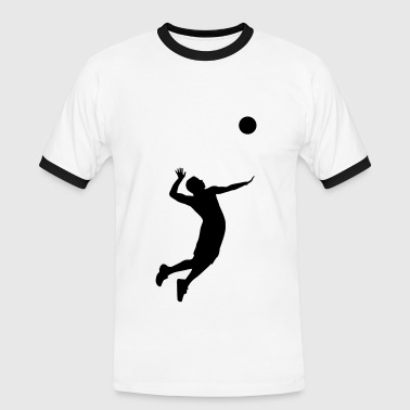 Volleyball, Volleyball Player - T-shirt contrasté Homme