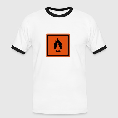 Burning Christmas - Men's Ringer Shirt