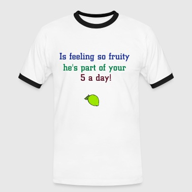 Lime - Men's Ringer Shirt