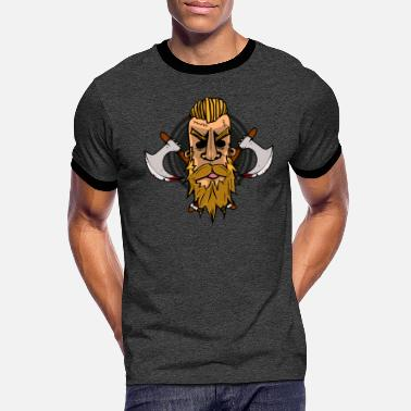 Vicking Vicking head - T-shirt contrasté Homme