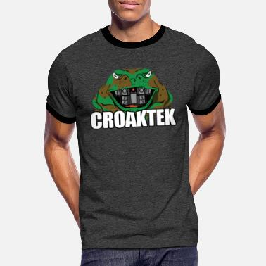 Borderlands CroakTek Green Frog TShirt - Men's Ringer T-Shirt