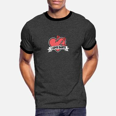 Bar Sports Darts bar sport hobby gift - Men's Ringer T-Shirt