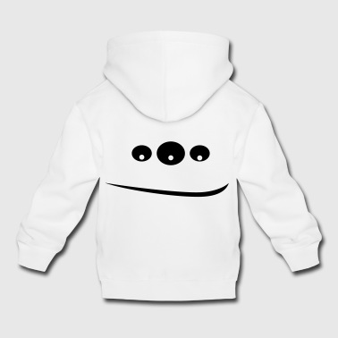 Monster in 3 eyes - Kids' Premium Hoodie