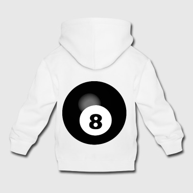 pool billiards snooker queue ball sport42 - Kids' Premium Hoodie