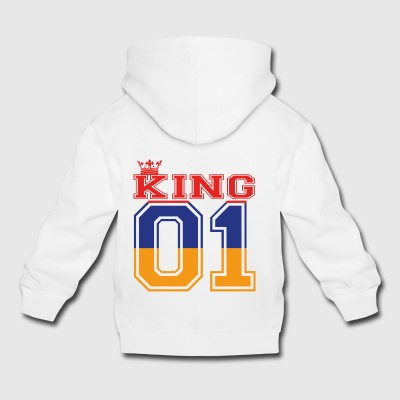 land partner king 01 prince Armenien - Kinder Premium Hoodie
