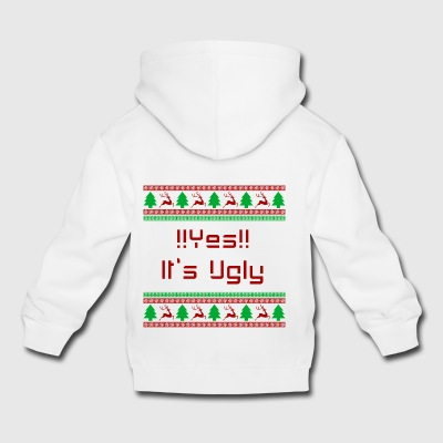 UGLY Christmas yes - Kids' Premium Hoodie