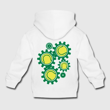 tennis gear gearing getriebe in ori - Kids' Premium Hoodie
