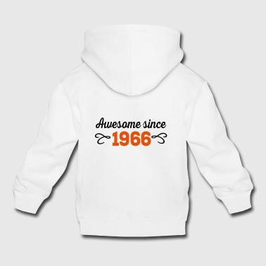 6061912 124613841 awesome since 1966 - Kinder Premium Hoodie