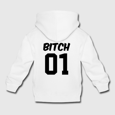 Best friends shirt - best friend shirt - Bitch - Kids' Premium Hoodie