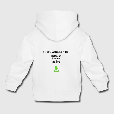 Motivation download button - Kinder Premium Hoodie