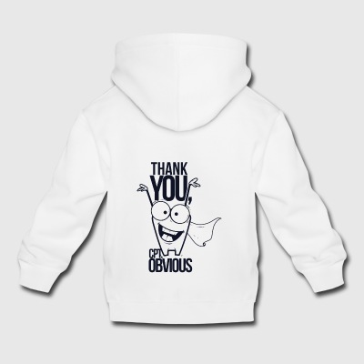 Thank you, cpt. obvious - Kids' Premium Hoodie