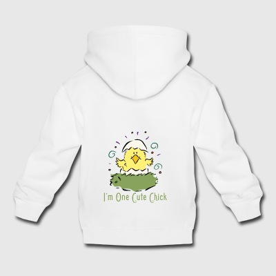 Easter I Am One Cute Chick - Kids' Premium Hoodie