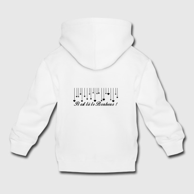 There is happiness - Kids' Premium Hoodie