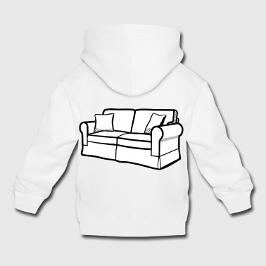 couch - Kids' Premium Hoodie