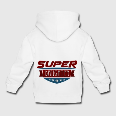 Super Daughter - Premium-Luvtröja barn