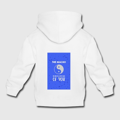 The Macho in me - Kids' Premium Hoodie