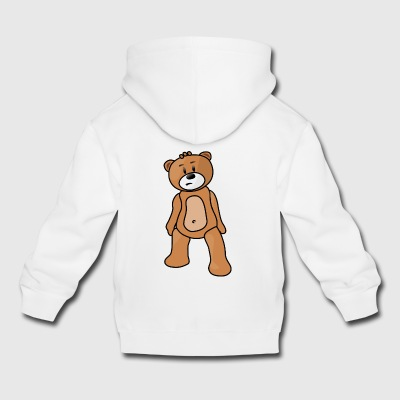 teddy bear teddy bear grizzly brown bear black bear - Kids' Premium Hoodie