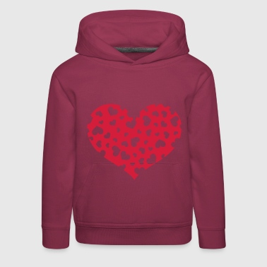 The Hundreds Hundreds heart - Kids' Premium Hoodie
