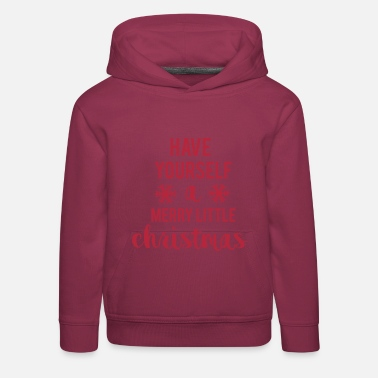 Yourself Merry Little Christmas - Kids' Premium Hoodie