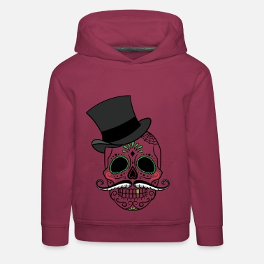 Totenkopf Day of the Dead - Kinder Premium Hoodie