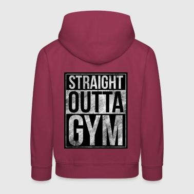 Fitness-Design - Gerade Outta Gym - Kinder Premium Hoodie