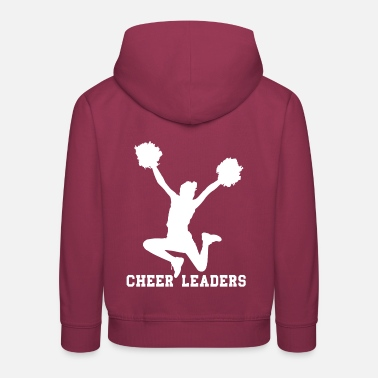 Cheerleading CHEERLEADER - Kids' Premium Hoodie
