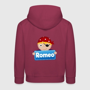 Little Pirate Romeo - Premium-Luvtröja barn