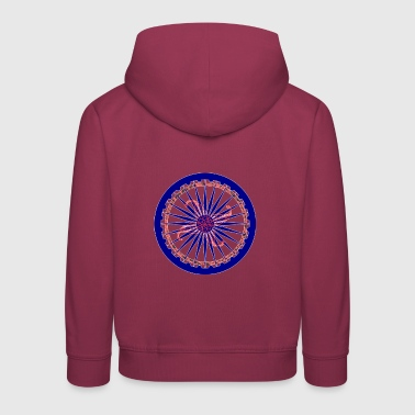 The wheel of life - Kids' Premium Hoodie