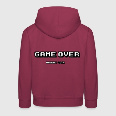 Game Over Game Over pièce d'insertion - Pull à capuche Premium Enfant
